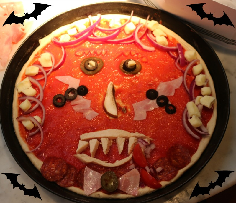 Halloween fun with Pizza Express