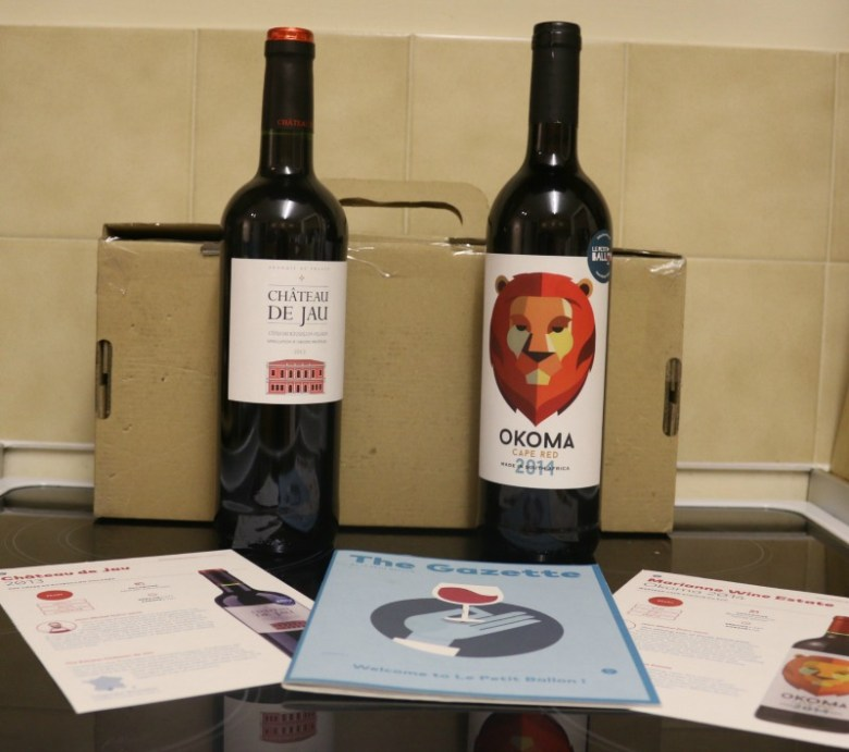 Le Petit Ballon wine subscription service