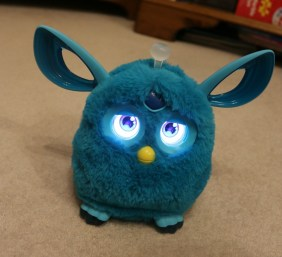 Making friends with Furby Connect