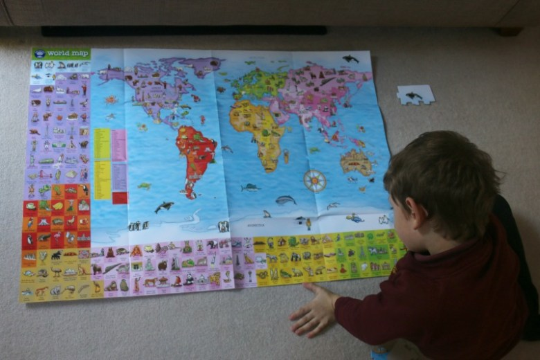 World map puzzle from orchard toys is a great educational tool world map puzzle from orchard toys gumiabroncs Choice Image