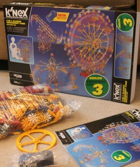 K'Nex 3 in 1 Classic Amusement Park Building Set 17035