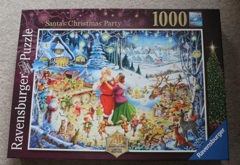 ravensburger santas christmas party limited edition 1000 piece puzzle - Ravensburger Christmas Puzzles