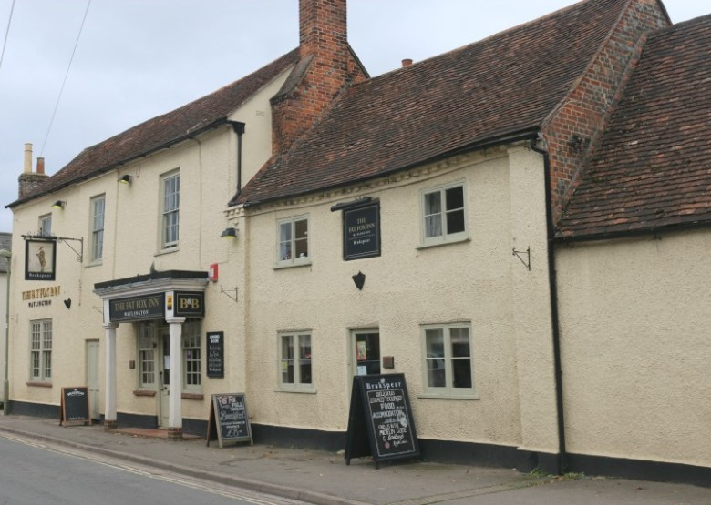 The Fat Fox in Watlington