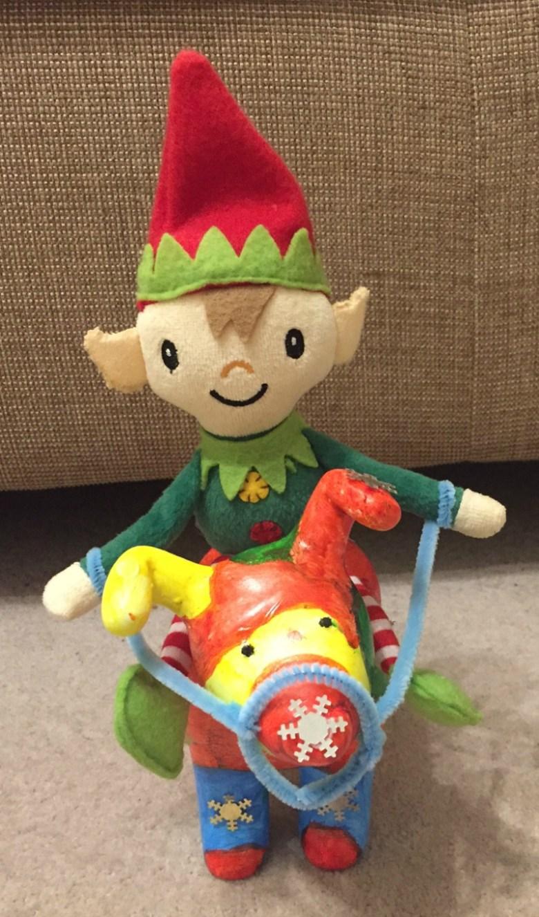 Berry the Elf in 2016 - week 1