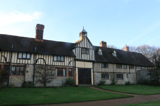 A quick stop at Ightham Mote