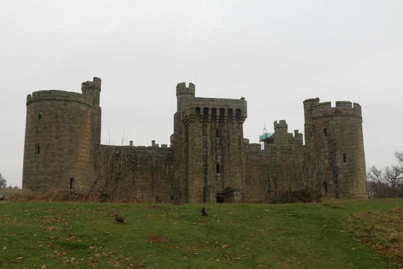 Exploring Bodiam Castle