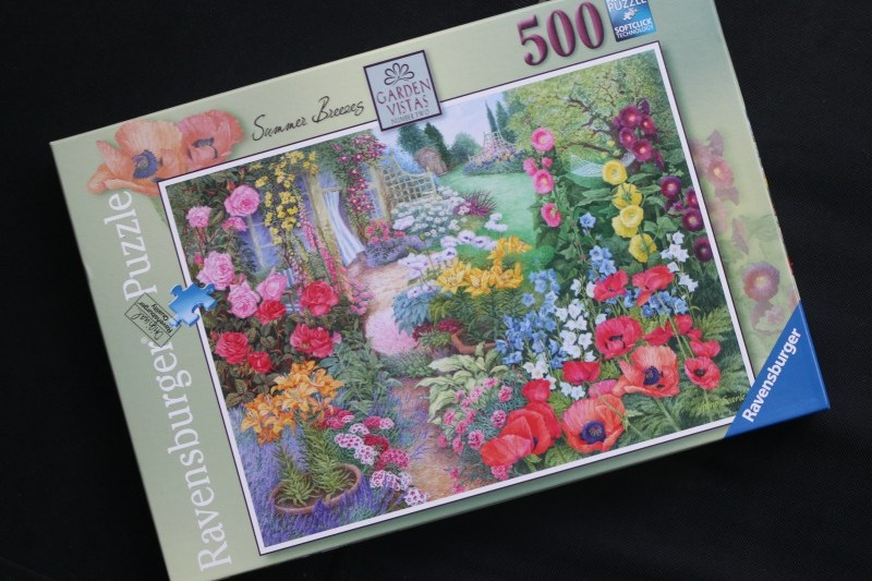 Garden Vistas No 2 – Summer Breeze 500 Piece Puzzle