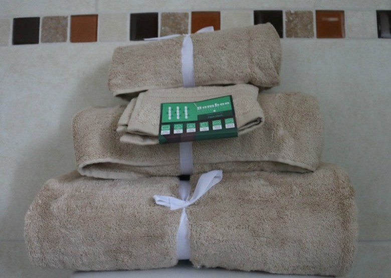 Bamboo Towels from The Towel Shop