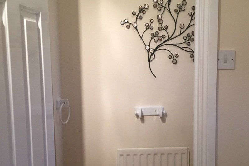 Glossing doors and painting walls