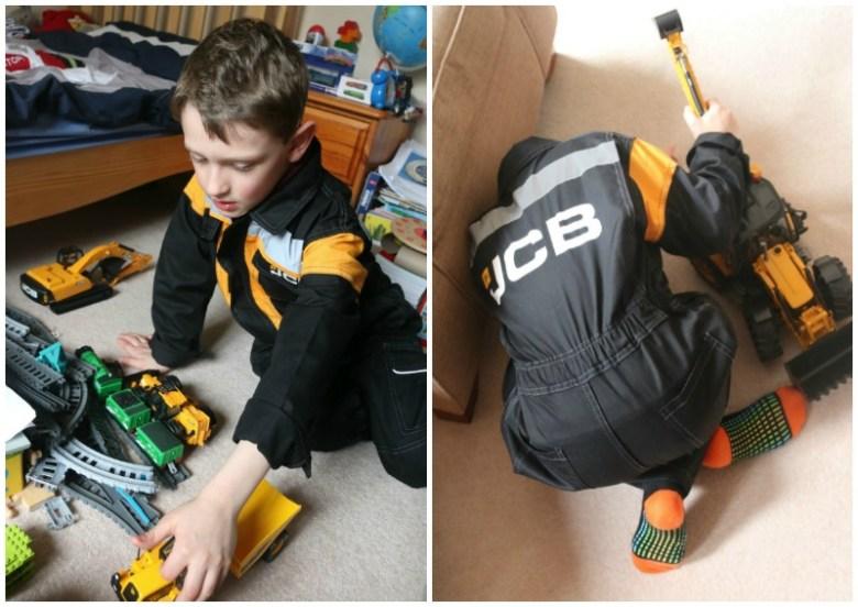 JCB Kids Coverall