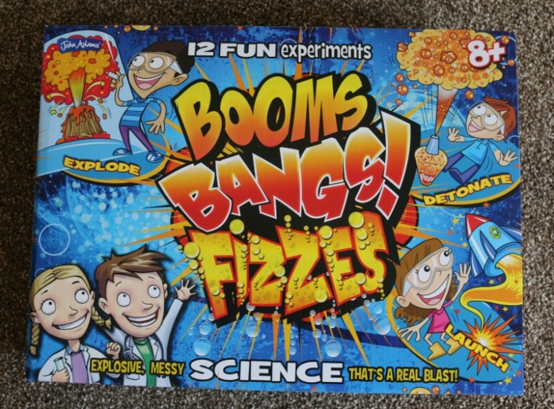 Booms, Bangs, Fizzes