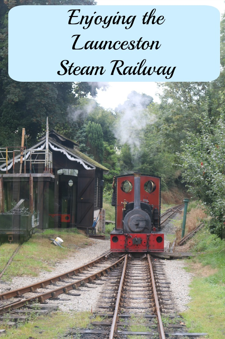 Enjoying the Launceston Steam Railway