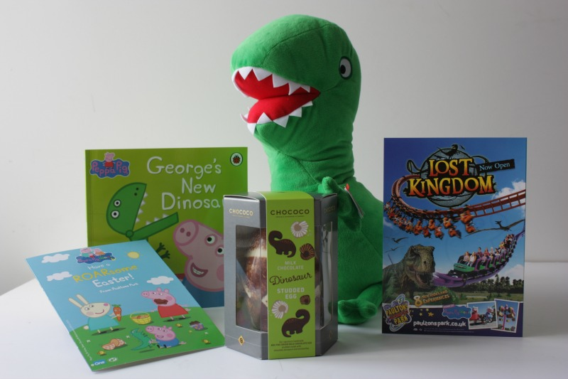 Win a Dinosaur Easter package with Paultons Park