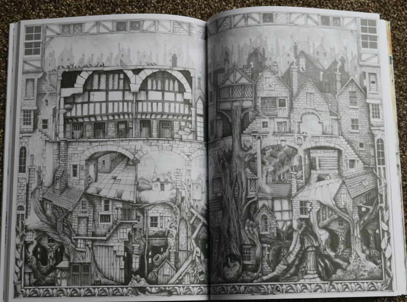 Ravensburger Colin Thompson Funtastic Adult Colouring Book