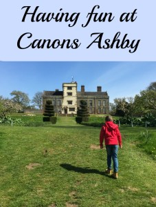 Having fun at Canons Ashby