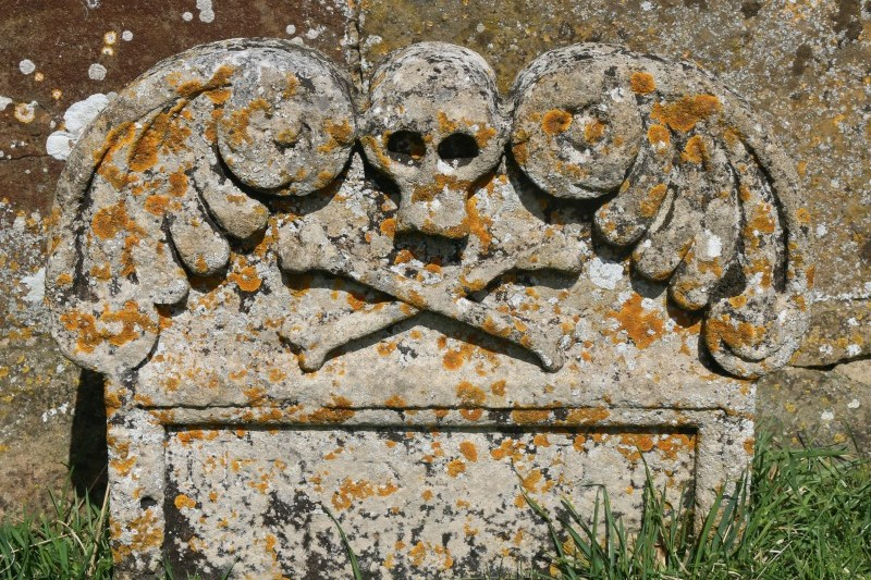 Pirate Tombstone - My Sunday Photo 210517