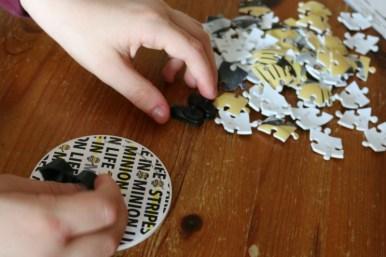 Ravensburger Despicable Me 3 Shaped Prisoner Minion 3D puzzle