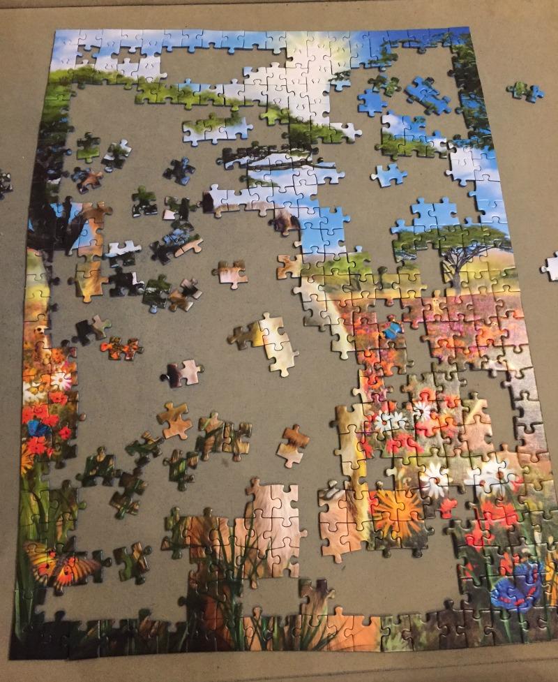 Ravensburger Mischievous Meerkats 500 piece jigsaw puzzle