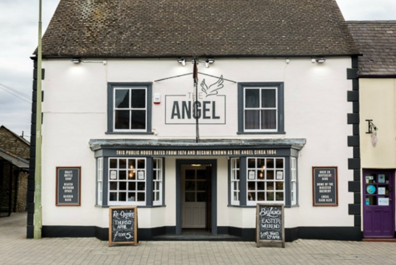 An evening at The Angel in Bicester