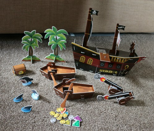 Stikbot Pirate Movie Set 8