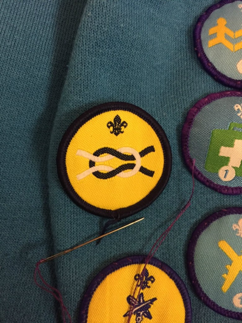 Handstands in the pool and a Beavers badge