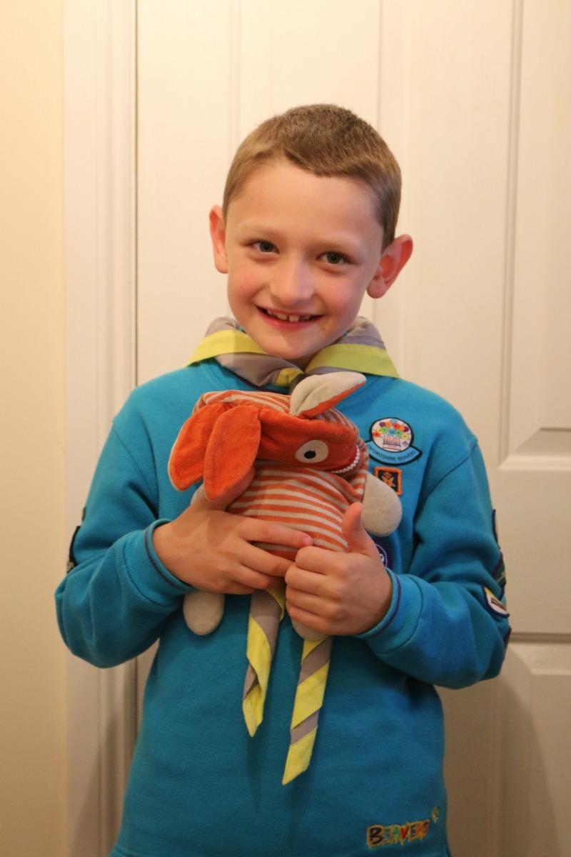 Swimming lesson success and Beaver Camp fun