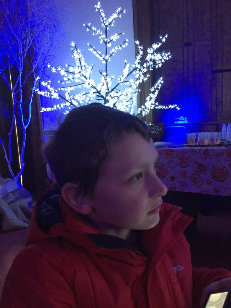 Enjoying Christmas at Marwell Zoo