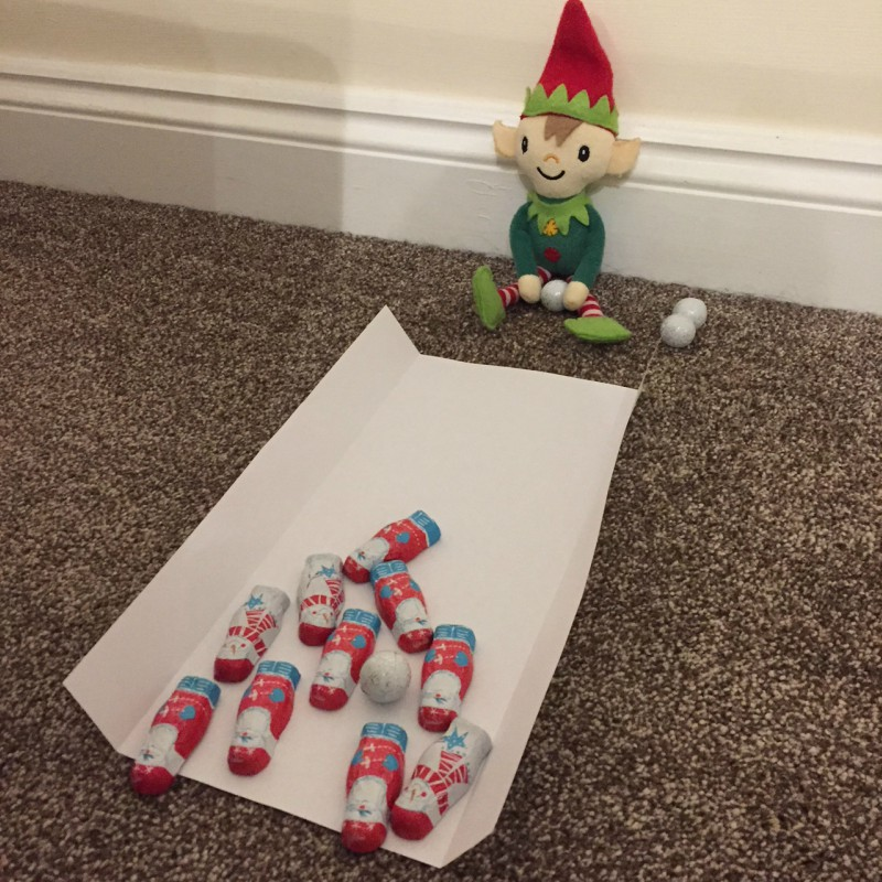 Berry the Elf in 2017 - days 1-7