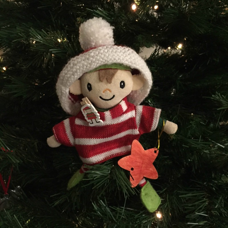 Berry the Elf in 2017 - days 15-24