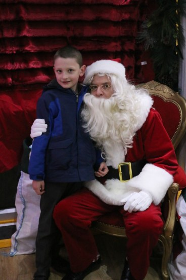 Little Diggers Christmas Grotto at Wyevale Garden Centre Bicester