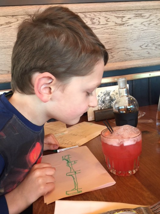 Family dining at The Alchemist in Oxford