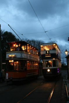 Exploring Crich Tramway Village