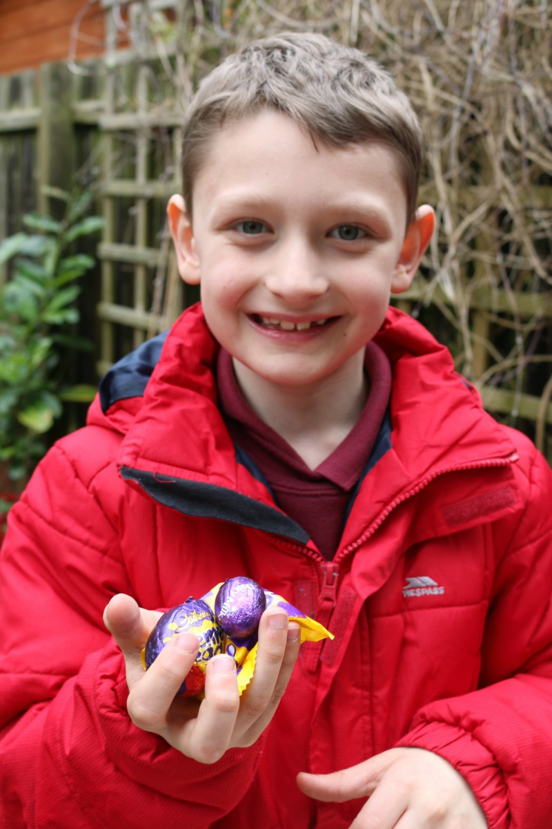 Celebrating Easter with Cadbury and Peter Rabbit