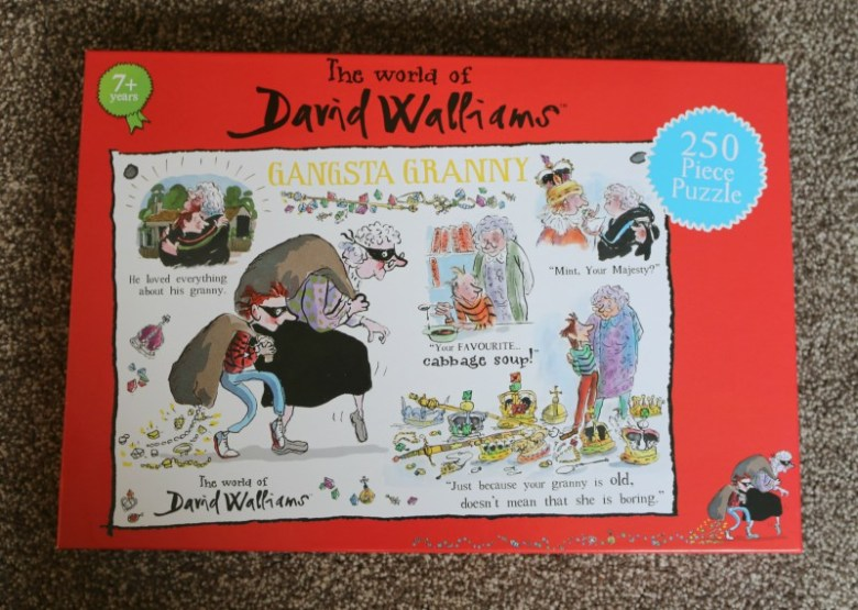 David Walliams Gangsta Granny 250 piece puzzle