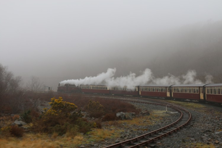 Steam Train adventures in North Wales