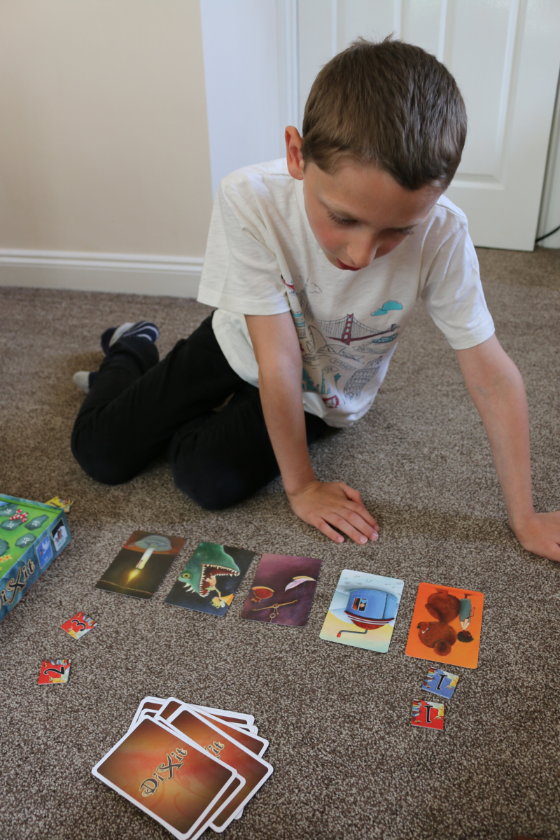 Creating stories with Dixit