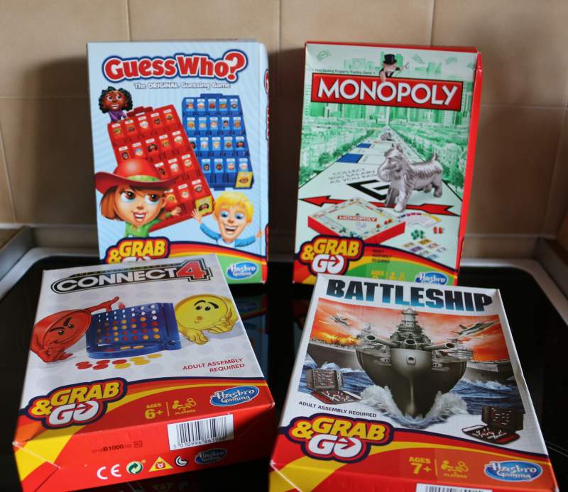 Grab & Go games from Hasbro