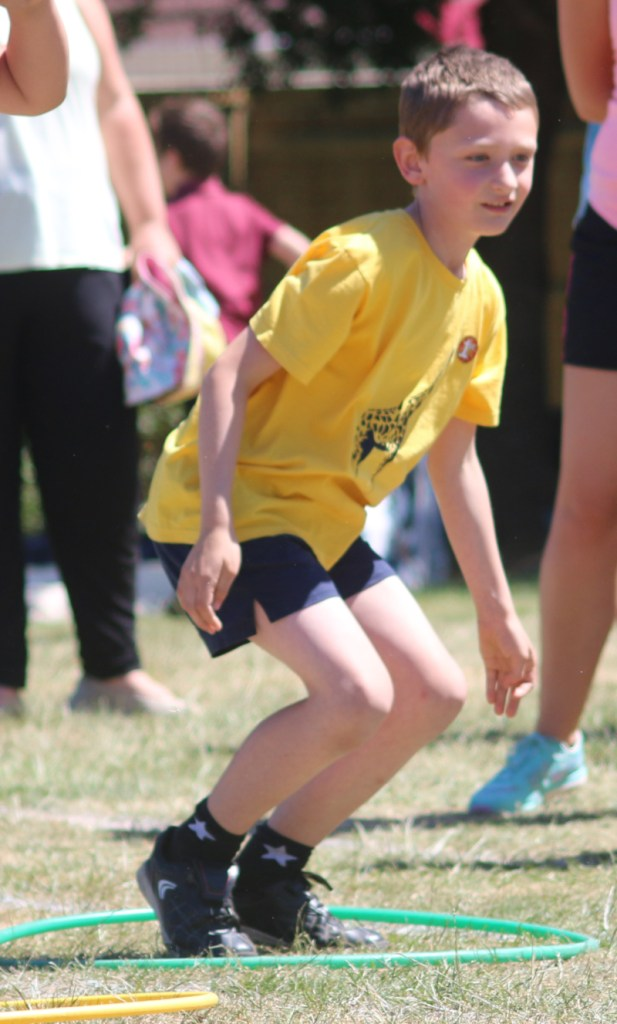 Sports Day in Year Three