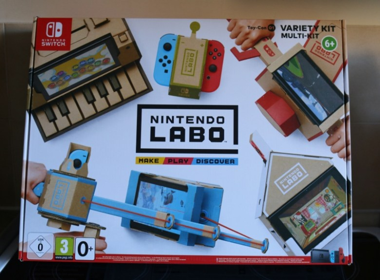 Getting to grips with Nintendo Labo