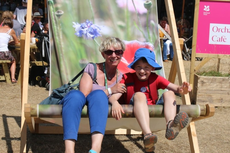 Having fun at Countryfile Live