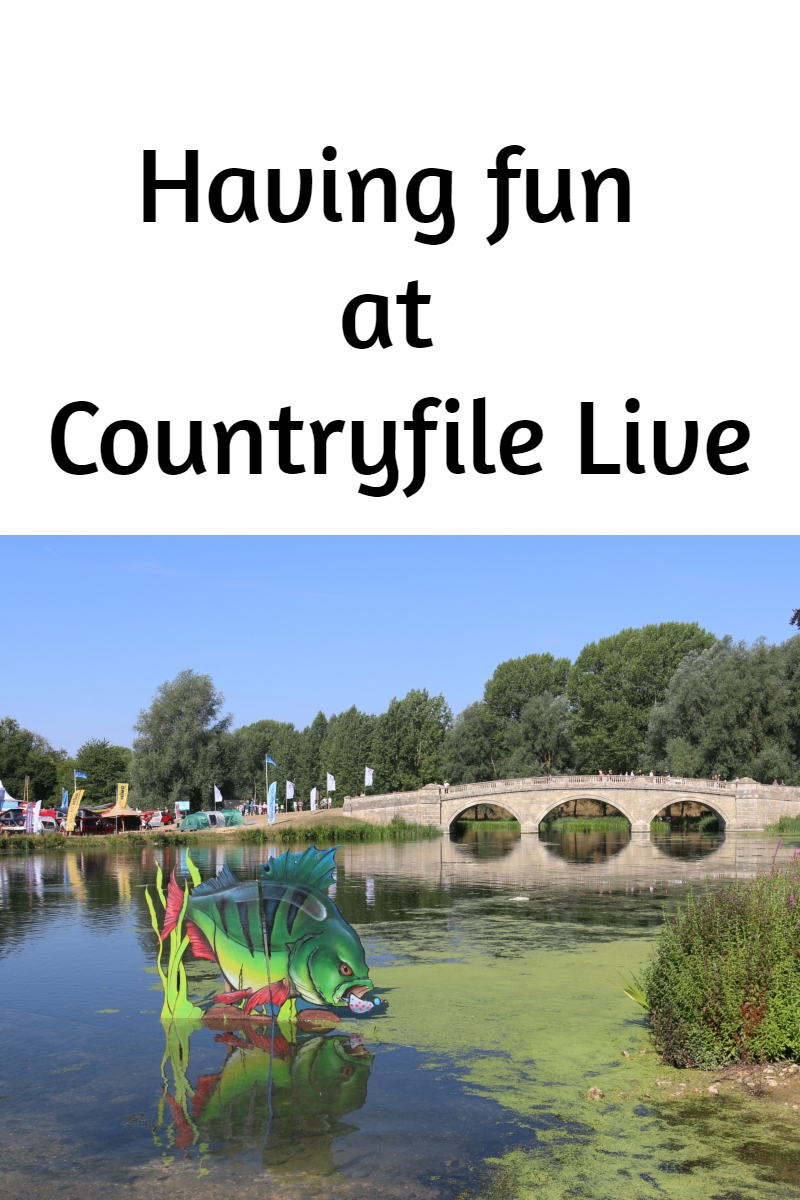 Having fun at Countryfile Live