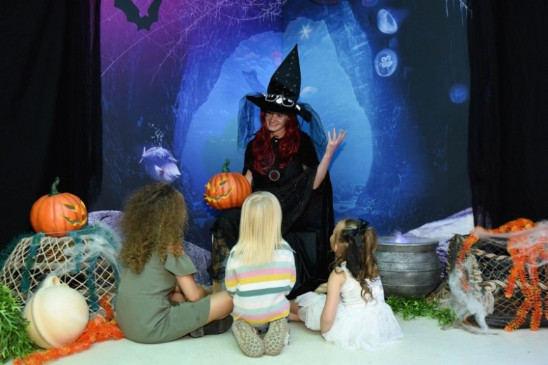 Ascarium at Sea Life Weymouth for Halloween