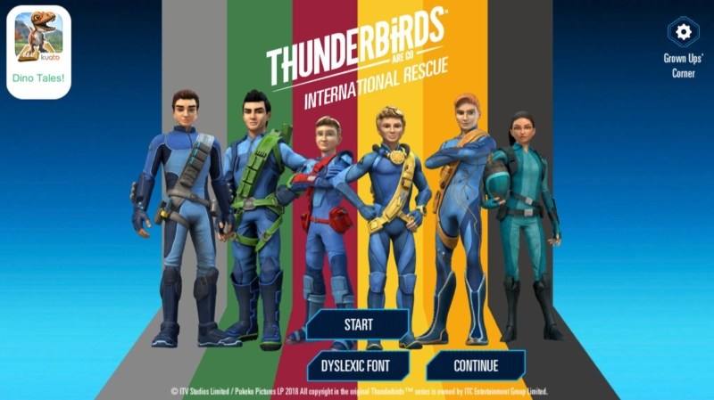 Thunderbirds Are Go: International Rescue