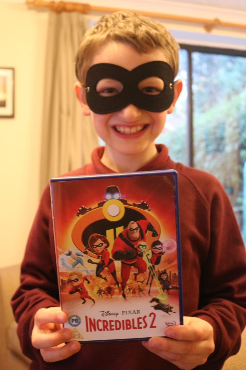 Incredibles 2 is released on DVD