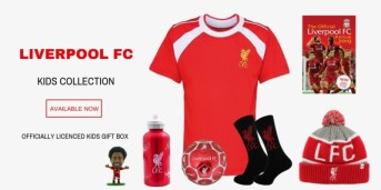 Kids football FANCRATE box giveaway worth £45