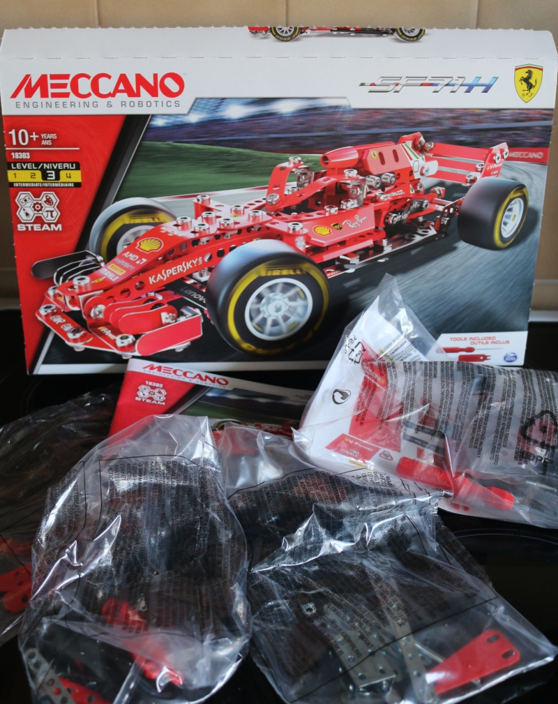 Meccano Ferrari SF71H