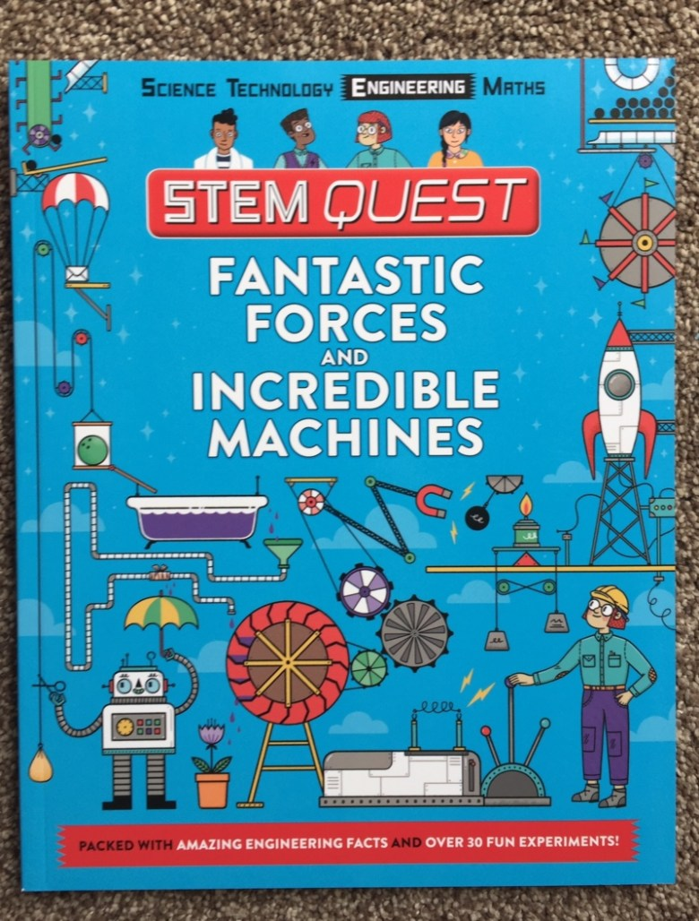 STEM Quest series from Carlton Books