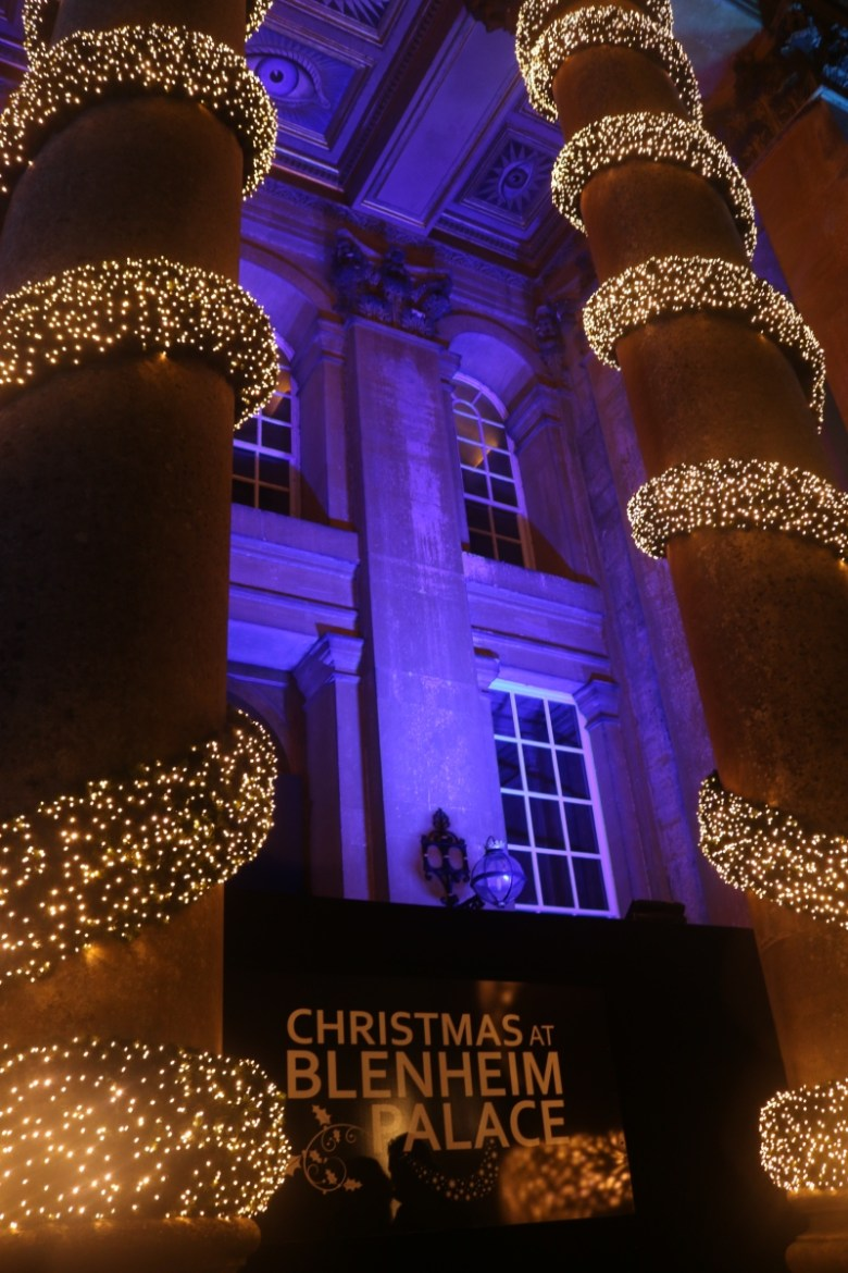 Feeling festive with Christmas at Blenheim Palace