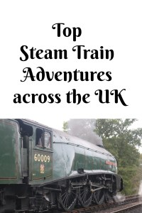 Top Steam Train Adventures across the UK