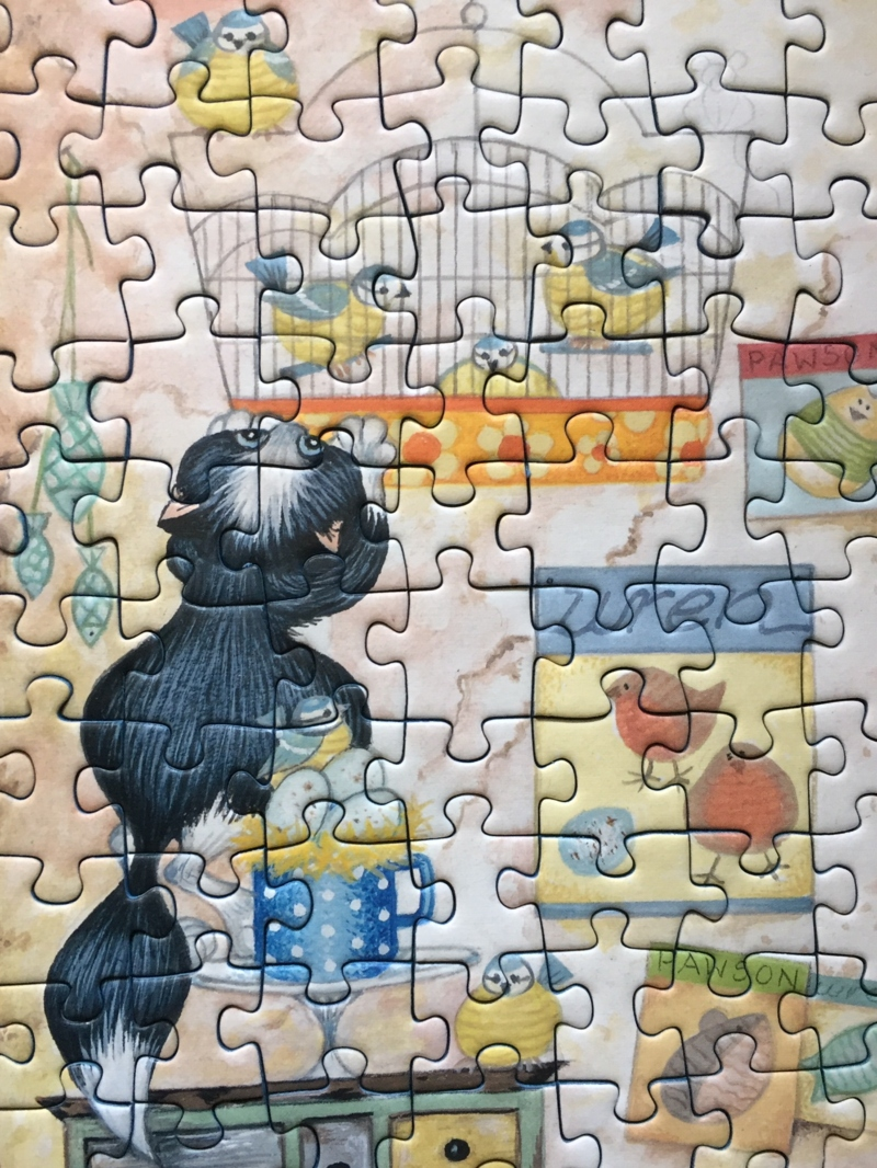 Crazy Cats – Knit one, Purrl one 500 piece puzzle